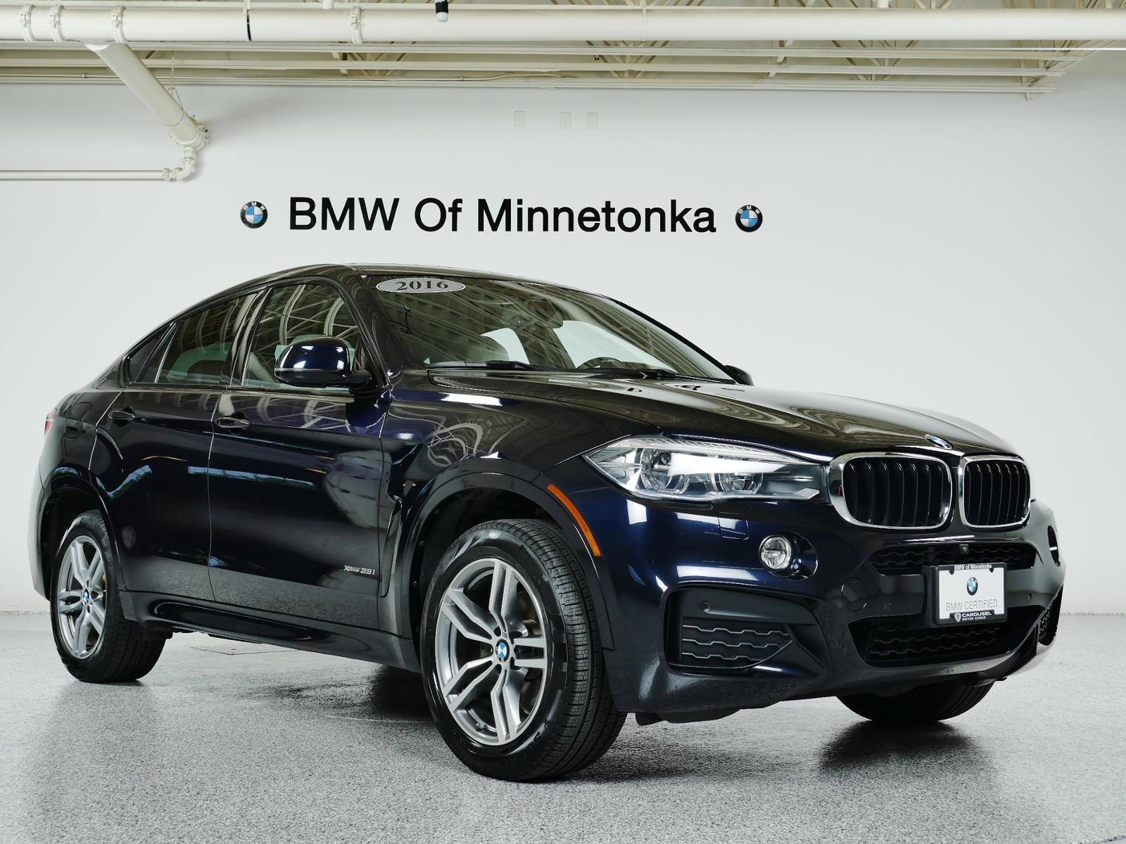 Bmw Certified Pre Owned >> Certified Pre Owned 2016 Bmw X6 Xdrive35i With Navigation Awd