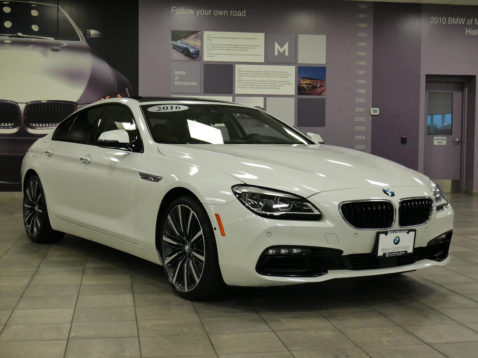 Certified Pre-Owned 2016 BMW 6 Series 650i xDrive